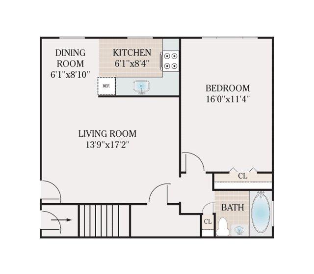 FLOOR PLANS - Atlantic Manor Apartments for rent in Manasquan, NJ