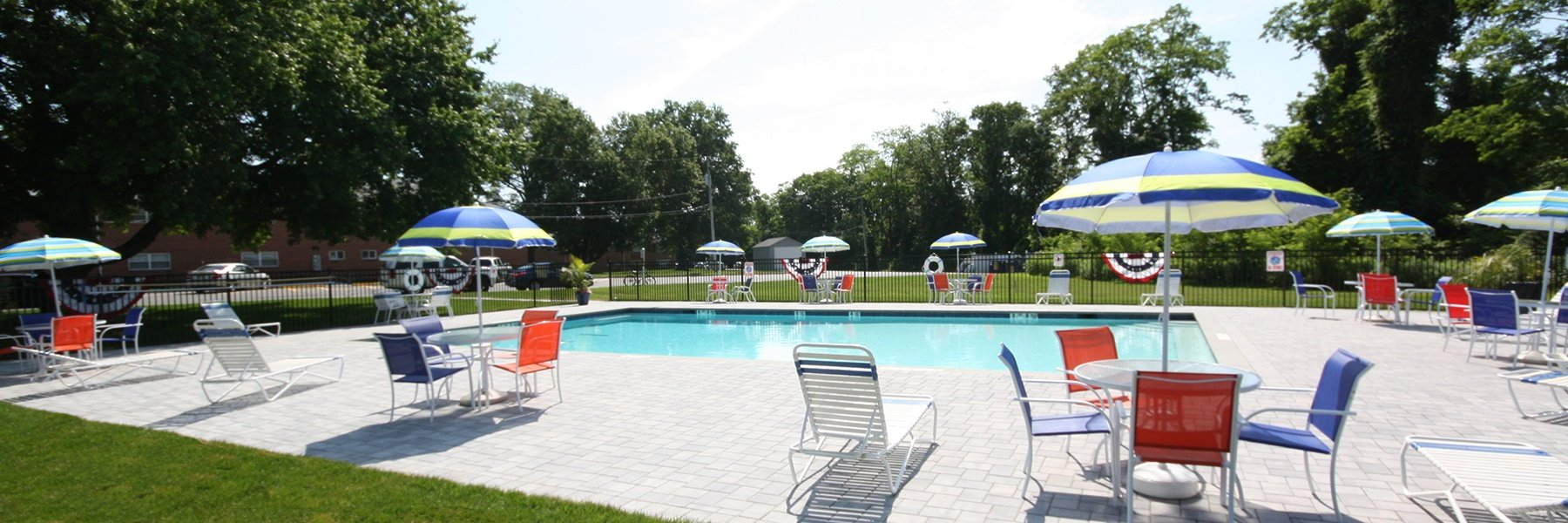 Atlantic Manor Apartments for Rent in Manasquan, NJ Swimming Pool