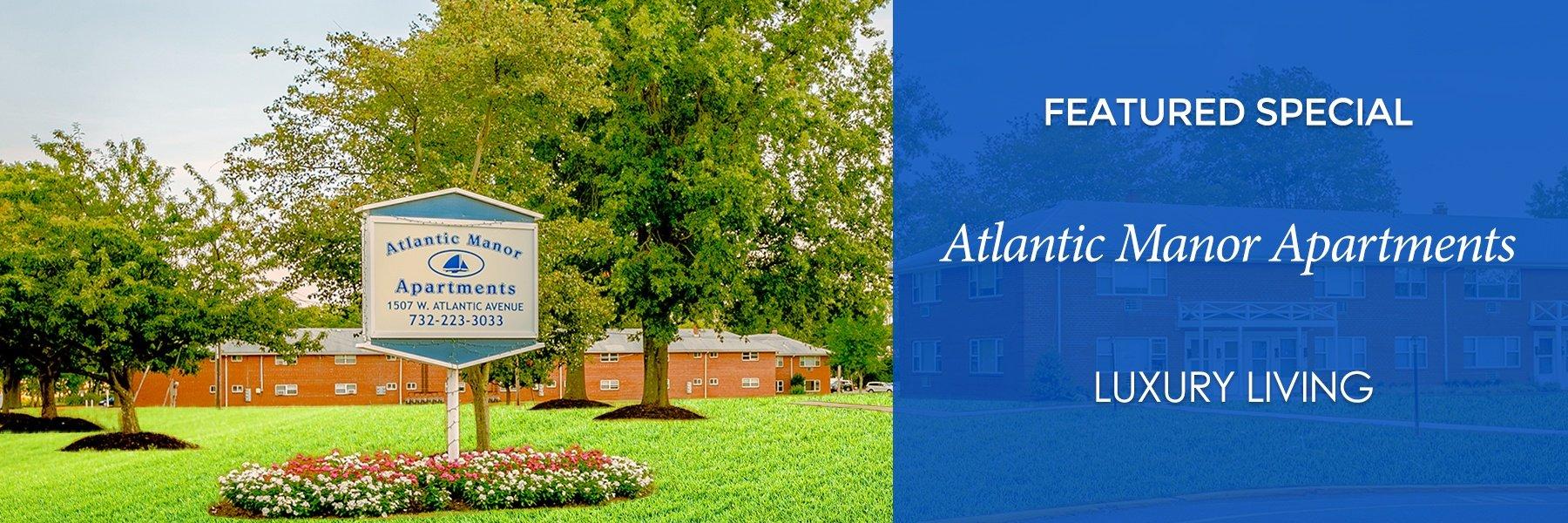Atlantic Manor Apartments for Rent in Manasquan, NJ Specials